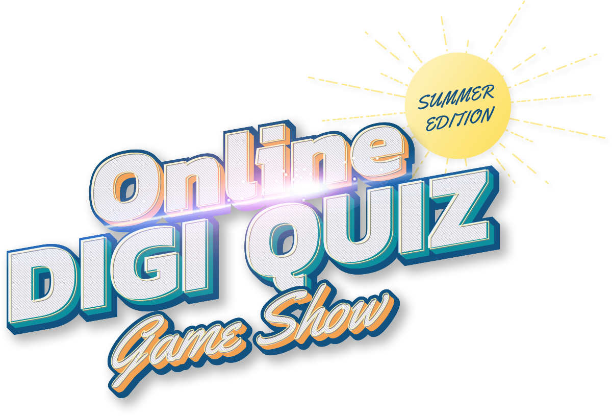 Online Digi Quiz Game Show Event logo