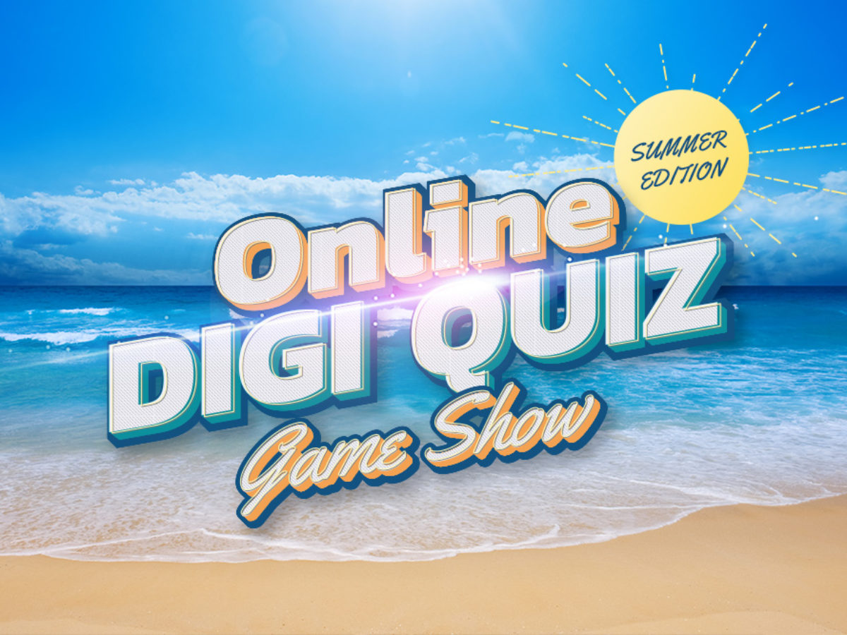 Online Digi Quiz Game Show Event