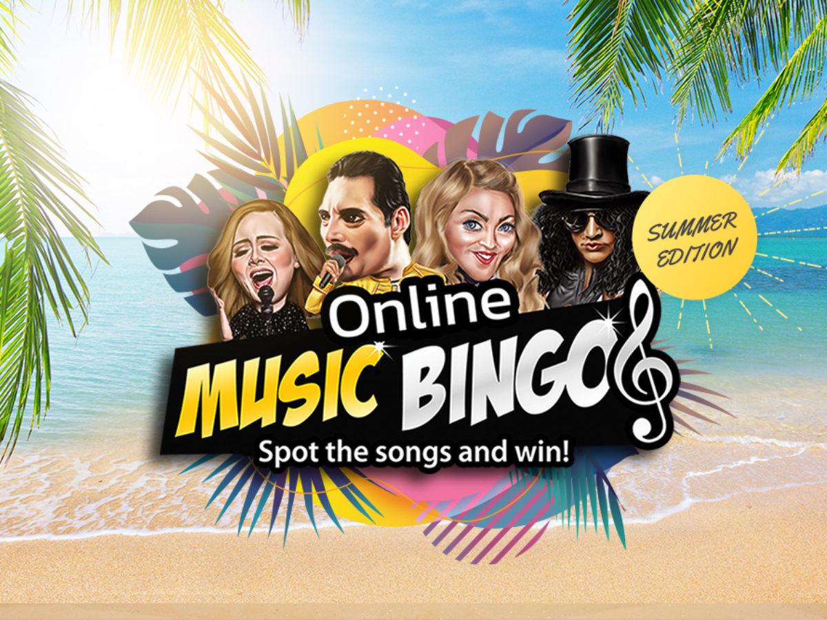 Summer Music Bingo